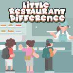 Little Restaurant Difference