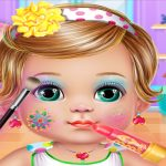 Baby Dress Up and Makeup