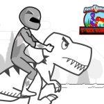 Power Rangers T-Rex Runner