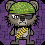Teddy Bear Zombies Machine Gun
