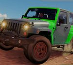 4×4 Jeep Impossible Track Driving Game