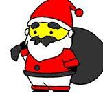 Bts Santa Claus Coloring