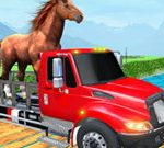 Farm Animal Transport Truck Game