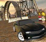 Muddy Village Car Stunt