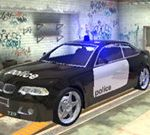 Police Drift Car
