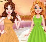 Princess Retro Chic Dress Design