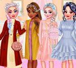 Princesses Winter Braids