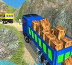 Real Indian Truck Cargo Truck Transport