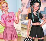 Soft Girl Vs E-girl Bffs Looks