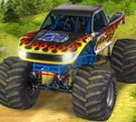 Xtreme Monster Truck Offroad Racing Game